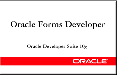 Oracle Forms Builder Bangla Tutorial – Oracle Bangla is a Free